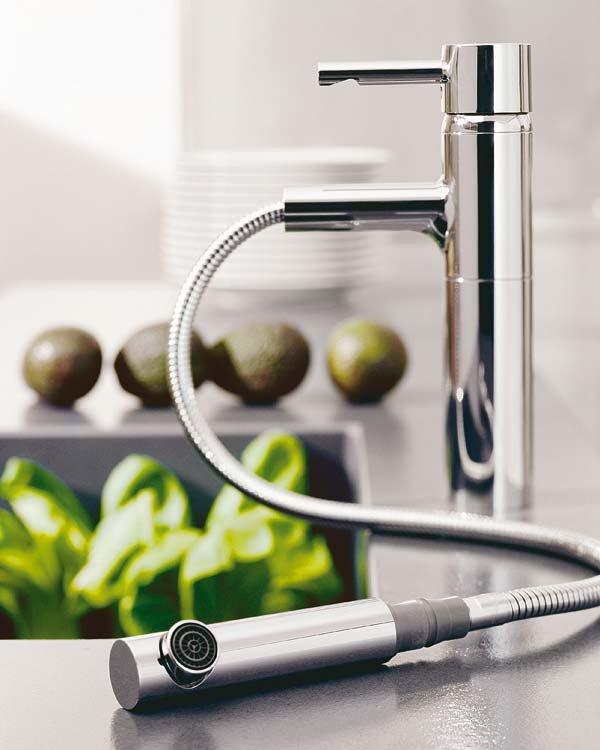 7 diferentes tipos grifos para tu cocina kocina sevilla for Grifo cocina pared 11 cm